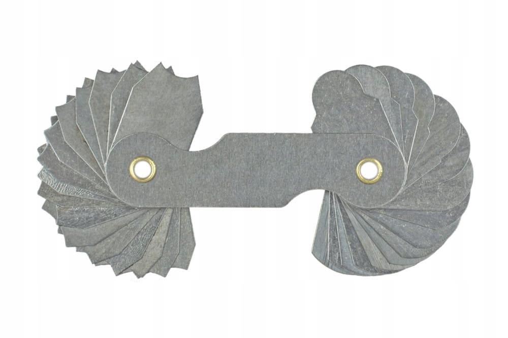 Plochý polomer (lúče) 1-6,5 mm