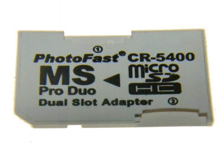 Adaptér pamäťovej karty Memory Stick na Micro SD-IT7
