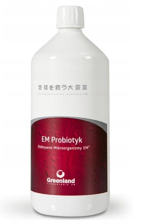 EM Probiotyk 1L Efektywne Mikroorganizmy Greenland