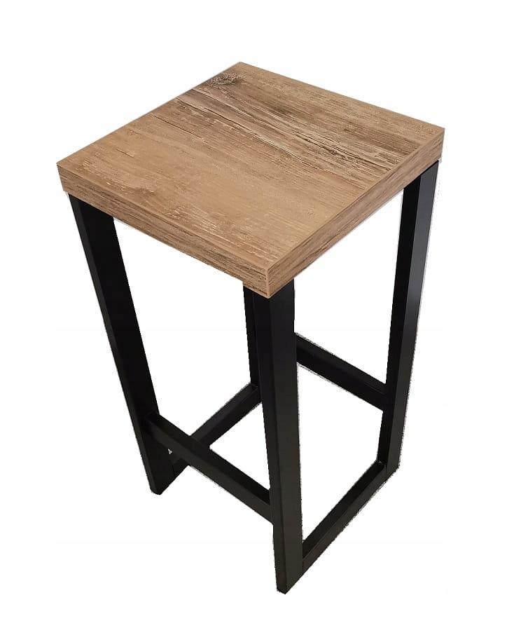 Priemyselná barová stolička retro loft 60cm
