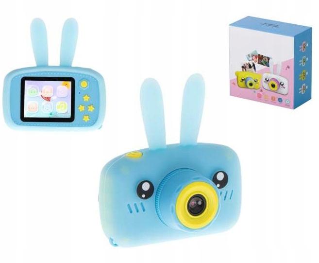 Aparat Cyfrowy Kamera dla Dzieci LCD KRÓLIK GRY