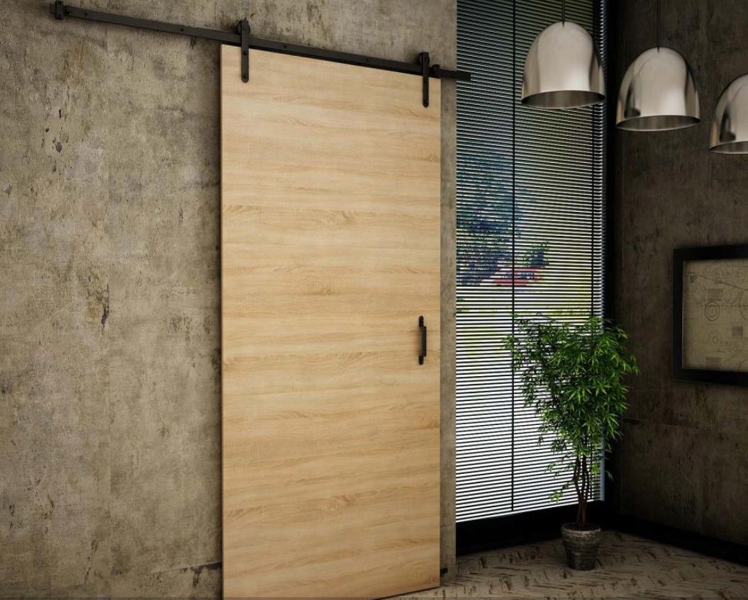 Nástenné posuvné dvere v retro štýle RT80 Sonoma