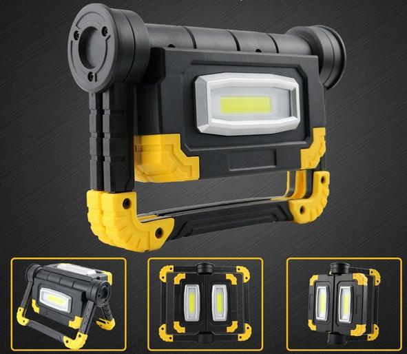 Funkcjonalna LAMPA ROBOCZA LED AKUMULATOROWA Typ samochodu 4x4/SUV Samochody osobowe Samochody dostawcze Samochody ciężarowe Samochody kempingowe Autobusy Niezdefiniowany