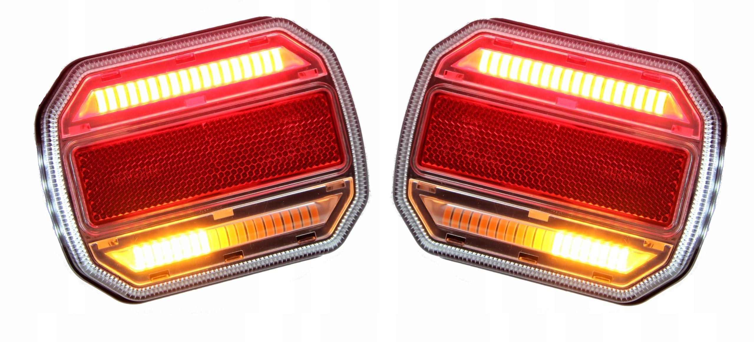 лампы задние комплексные led динамический направление пара