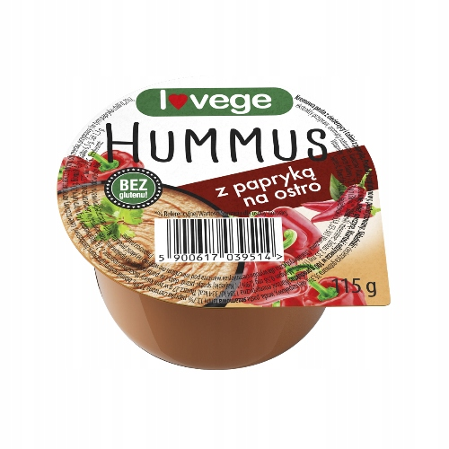 Хумус Lovege с паприкой 115 г SANTE