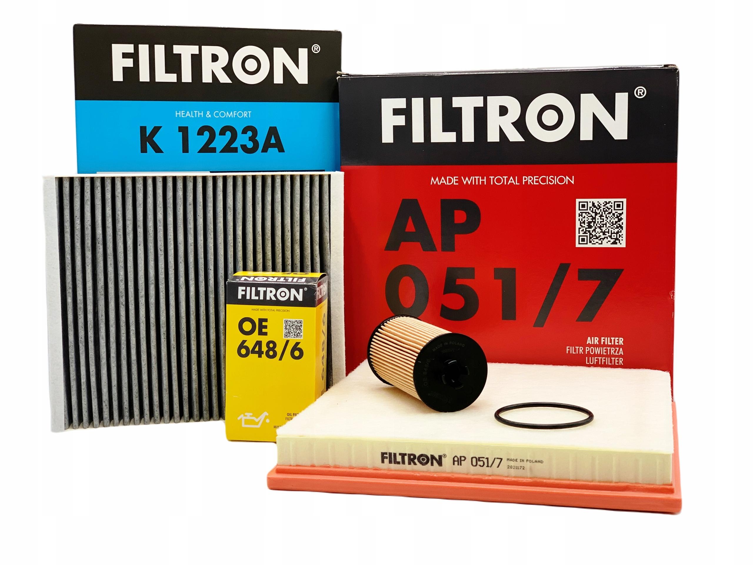 комплект фильтры filtron opel astra j 14 t 16 t