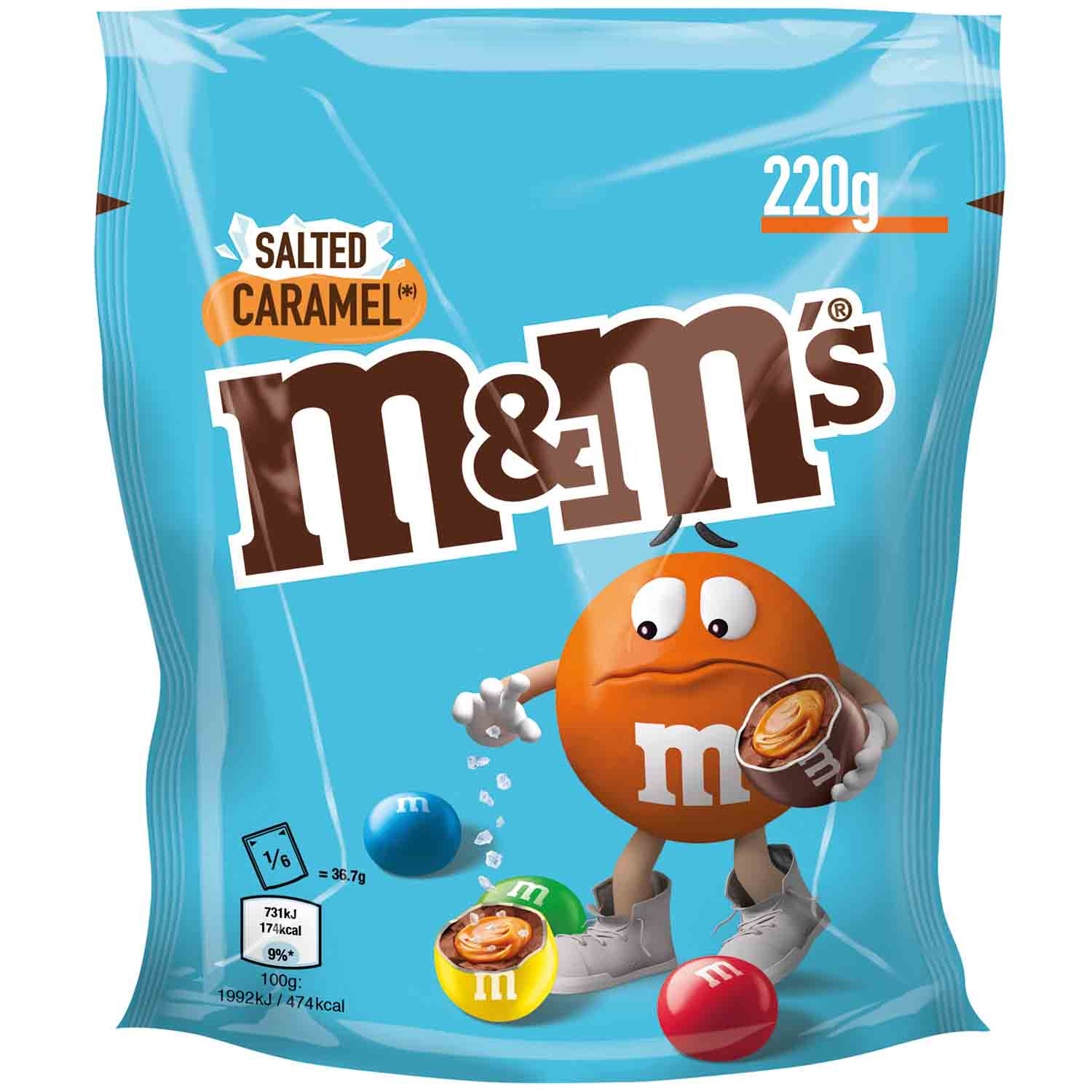 M&M's Salty Caramel 220 г драже из Германии