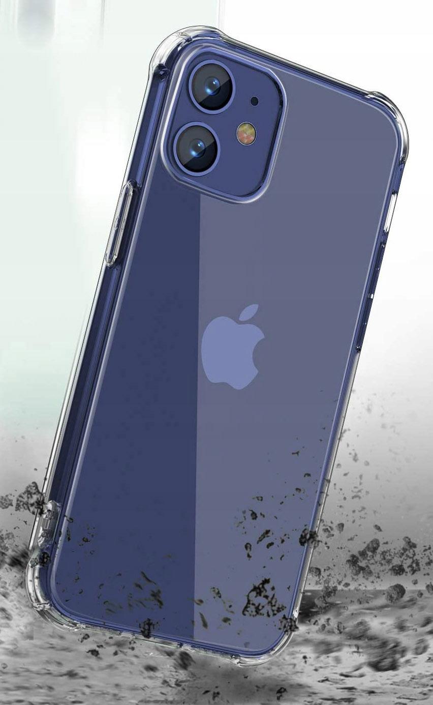 Etui do iPhone 12 ANTI-SHOCK Case + Szkło Kod producenta E21