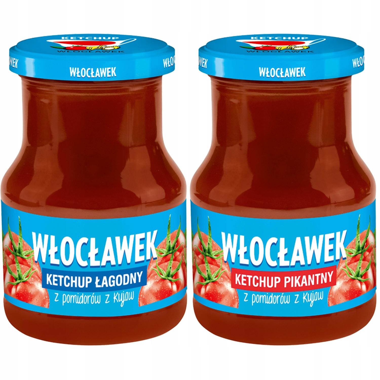 Купить Włocławek Набор томатных кетчупов MIX 2x380г на Otpravka - цены и фото - доставка из Польши и стран Европы в Украину.