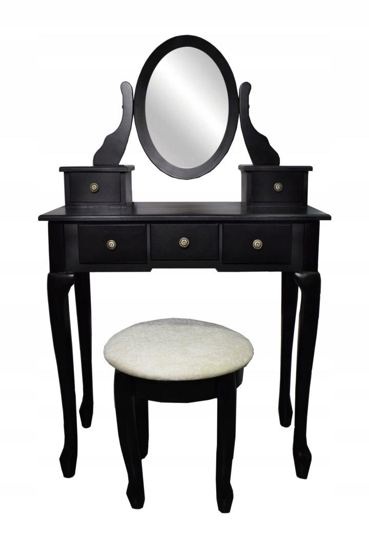 Косметический комод BLACK Large Mirror Stool