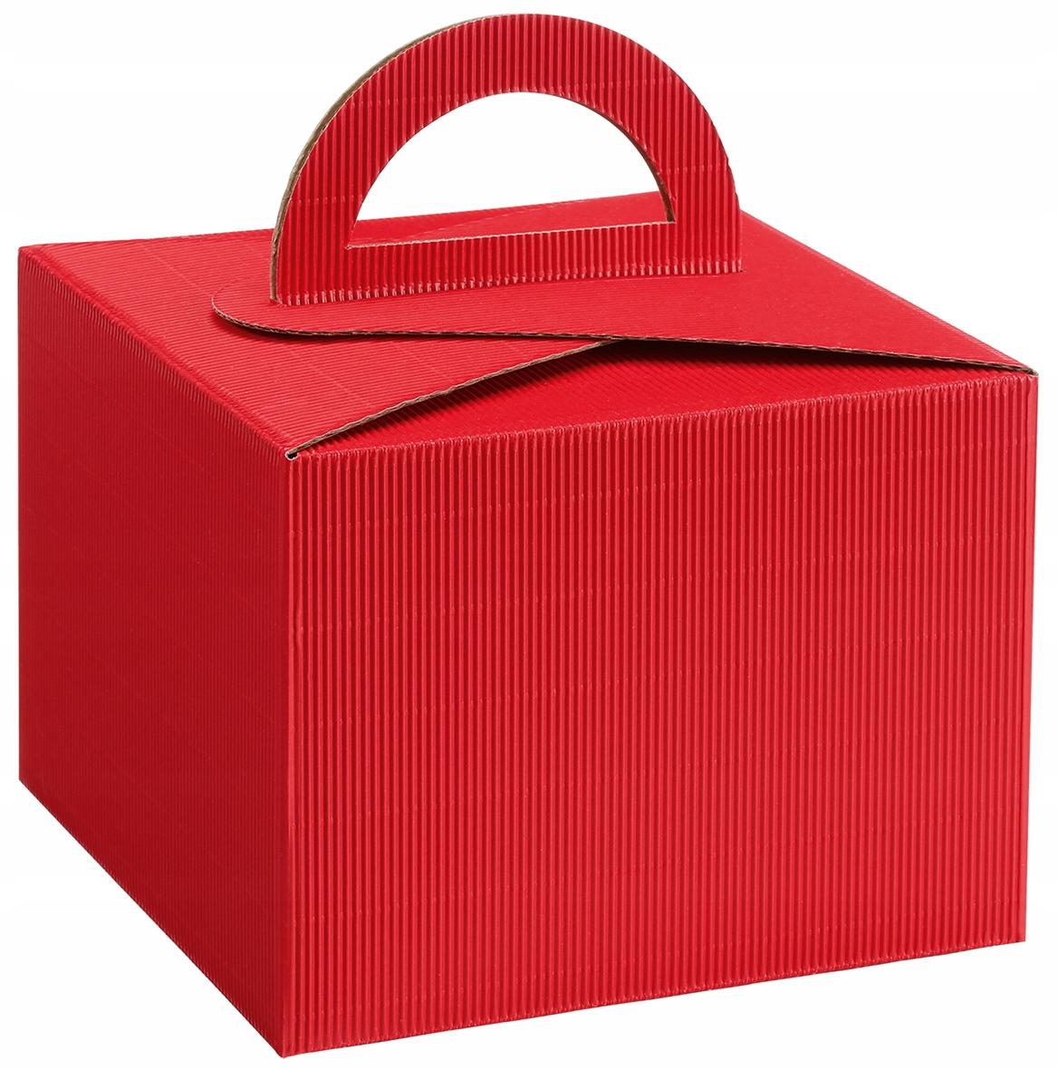 Подарочная коробка красный День святого Валентина ECO colors