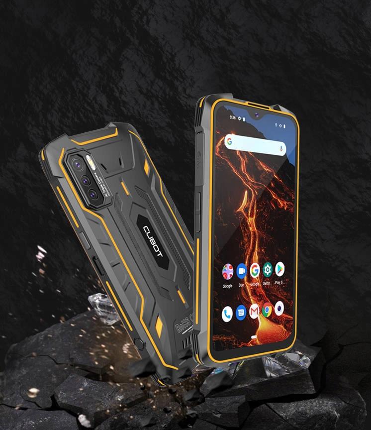 CUBOT KING KONG 5 PRO 2 4/64GB NFC LTE PANCERNY EAN 6924136714508