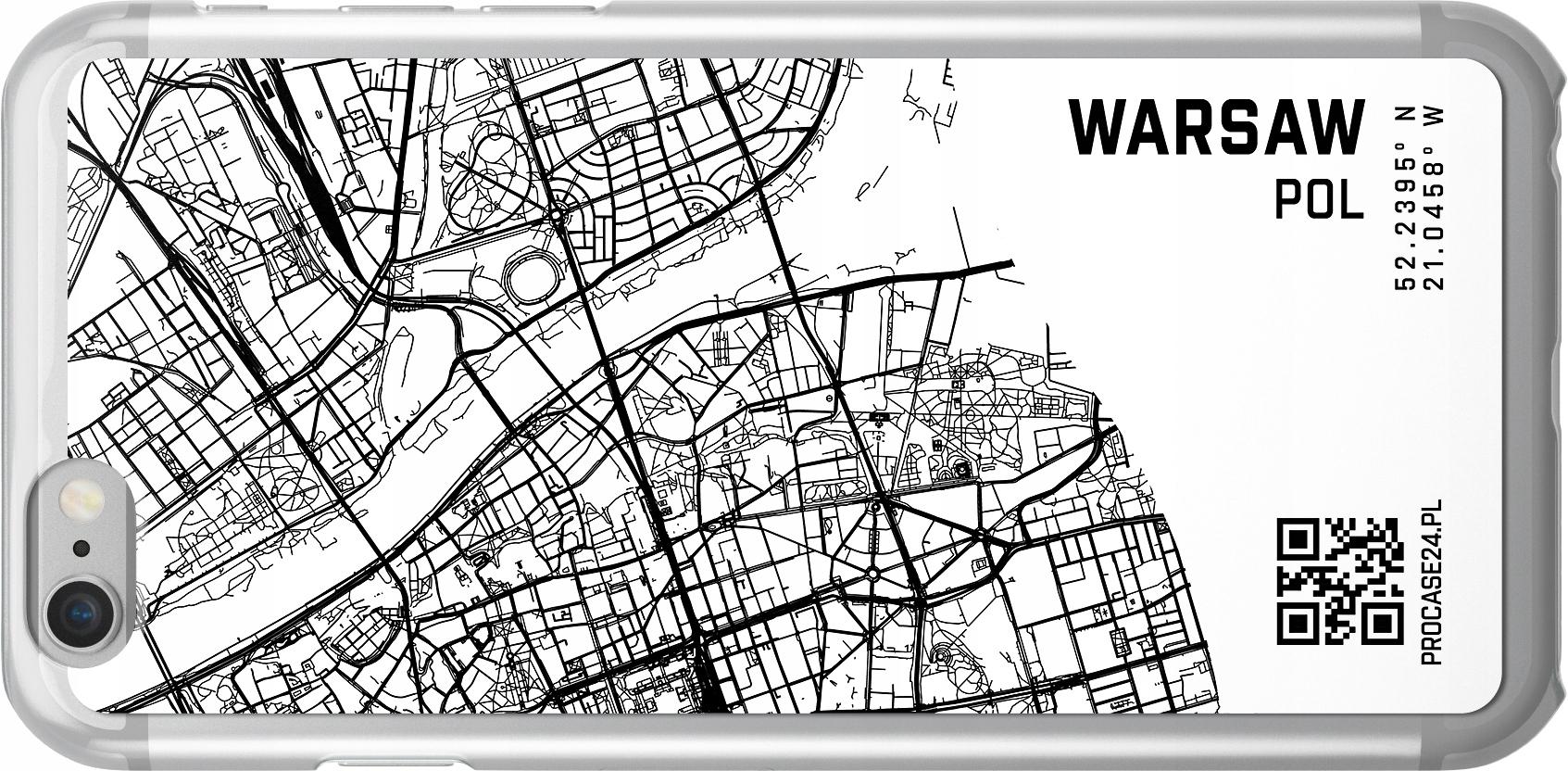 Etui Wzory Mapa Huawei GT3