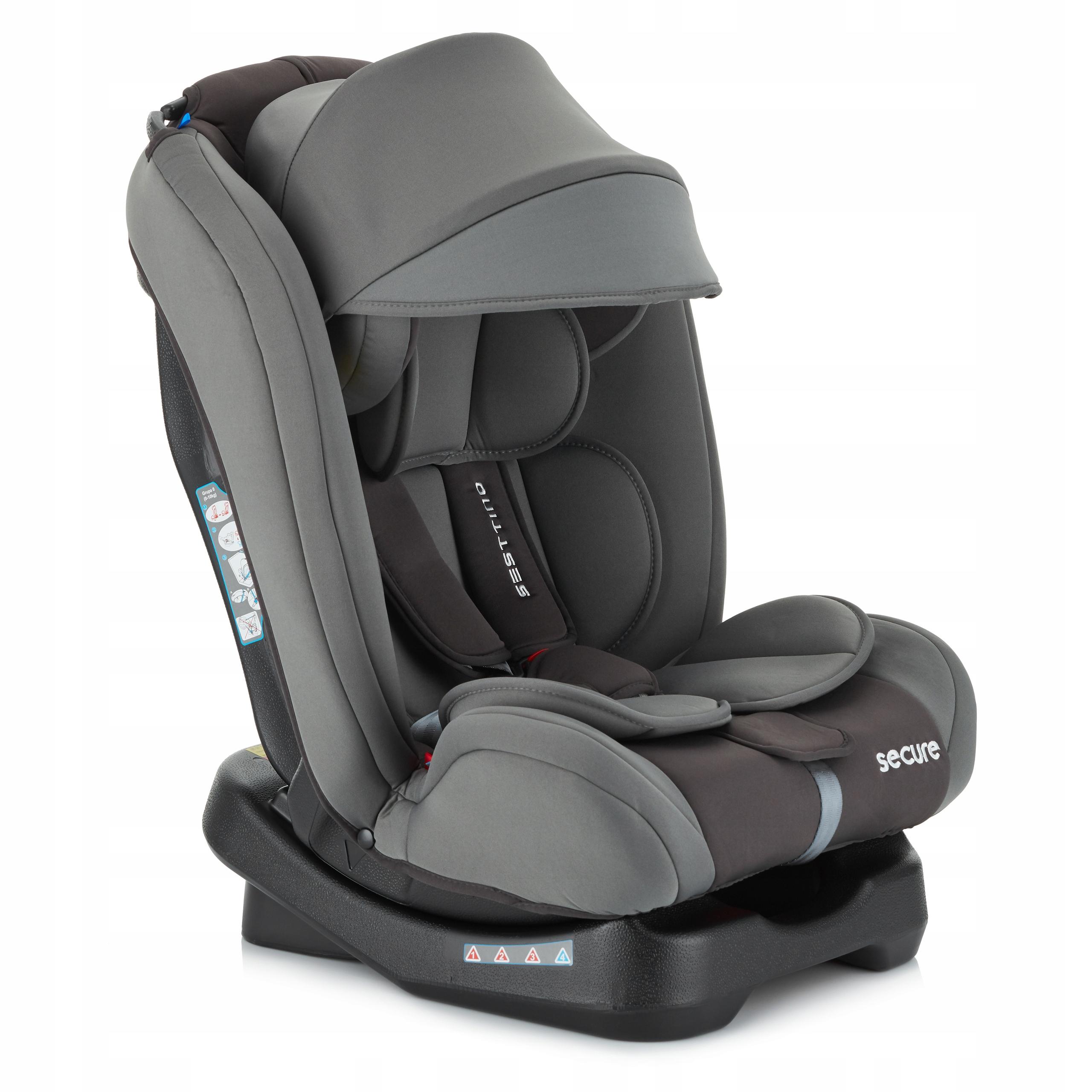 Fotelik samochodowy Sesttino Secure PRO 0-36kg Kod producenta SECURE PRO