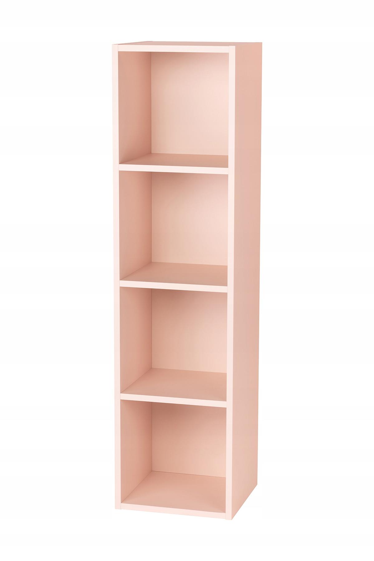Книжный шкаф Smarty Pink Cube x4 Составляйте как вам нравится
