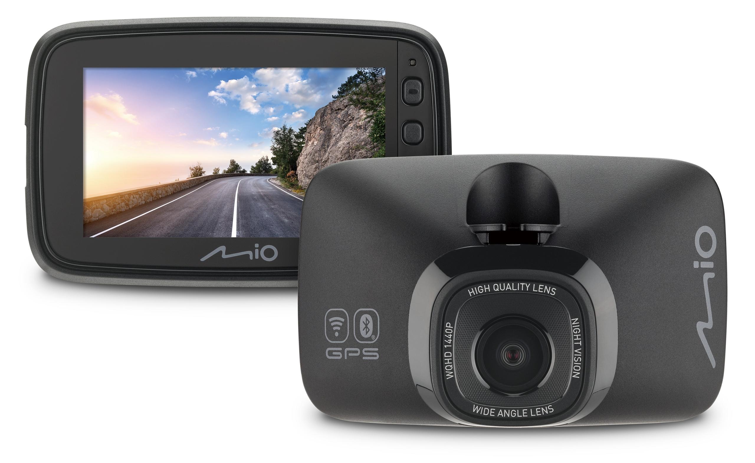 MIO MiVue 818 KAMERA GPS, Wifi, BLUETOOTH, 60kl/s Producent Mio