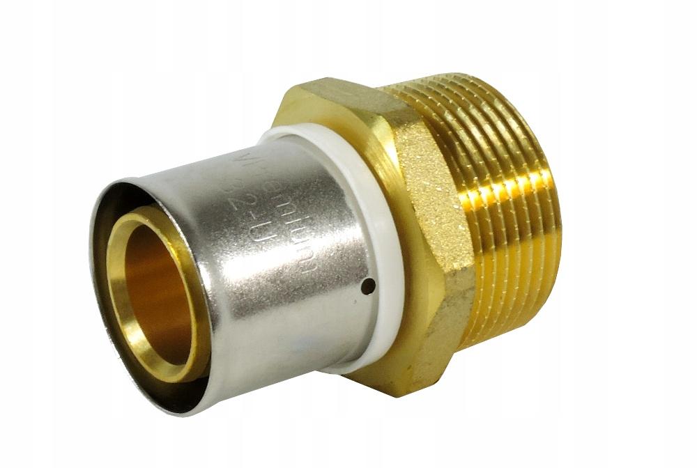 """Złączka zaprasowywana GZ 32mm x 1 1/4"""" U"""