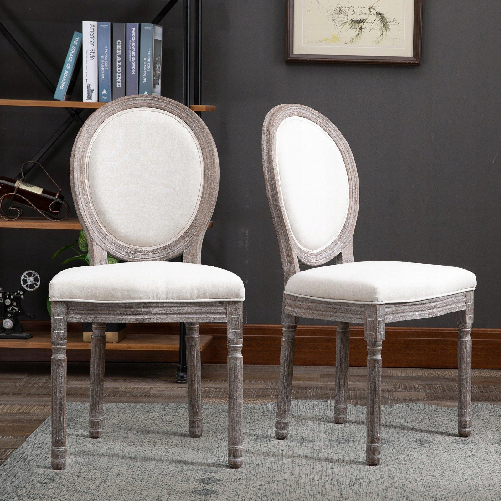 Sada 2 retro jedálenských stoličiek -835-114