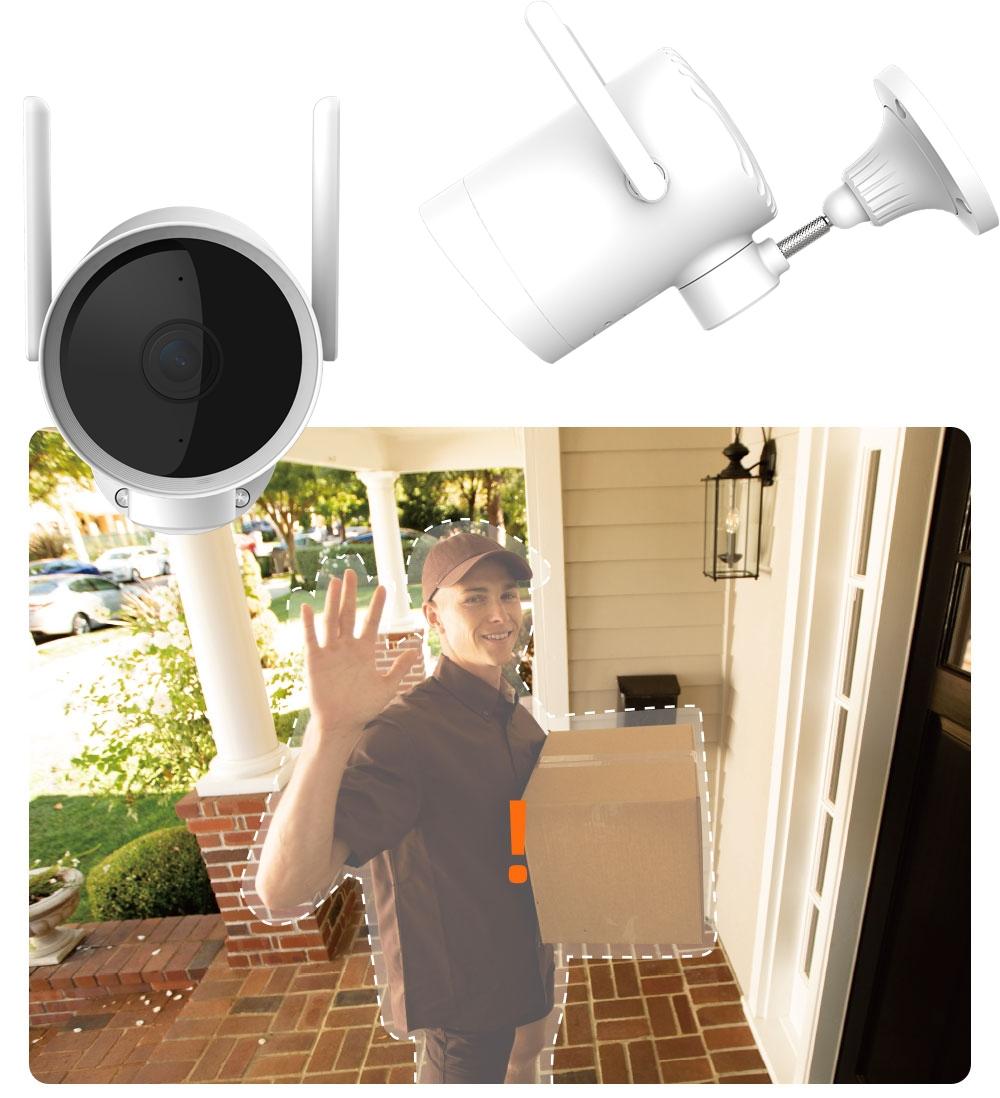 IMILAB EC3 Kamera IP ZEWNĘTRZNA obrotowa 3MPIX 2K Rozdzielczość 3 Mpx