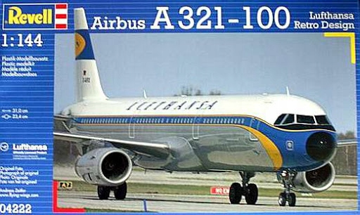 Airbus A321-100 Lufthansa Retro Revell 04222 1/144