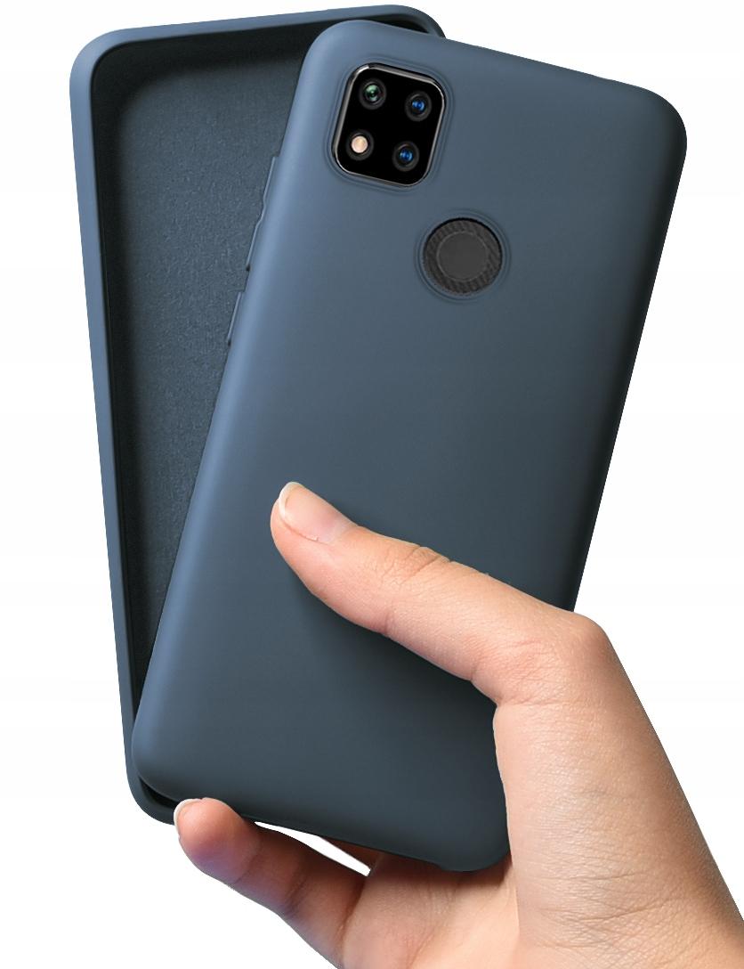 Etui do Xiaomi Redmi 9C Case Silikon + Szkło 9H Kod producenta C180