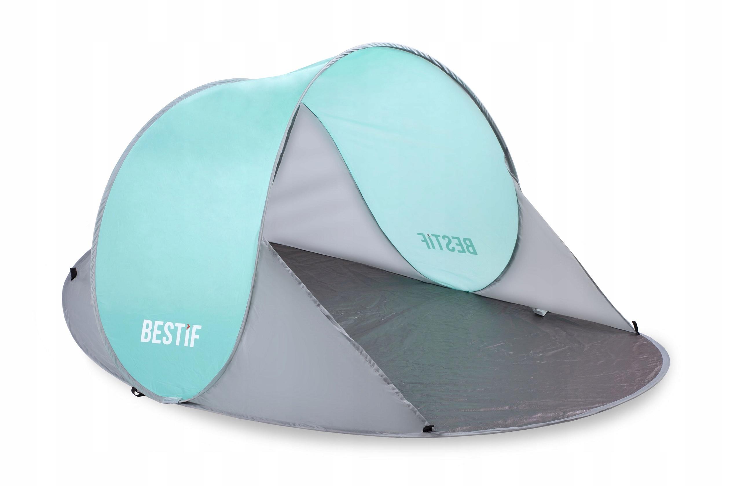 Палатка на пляже, самоутверждающая на пляже