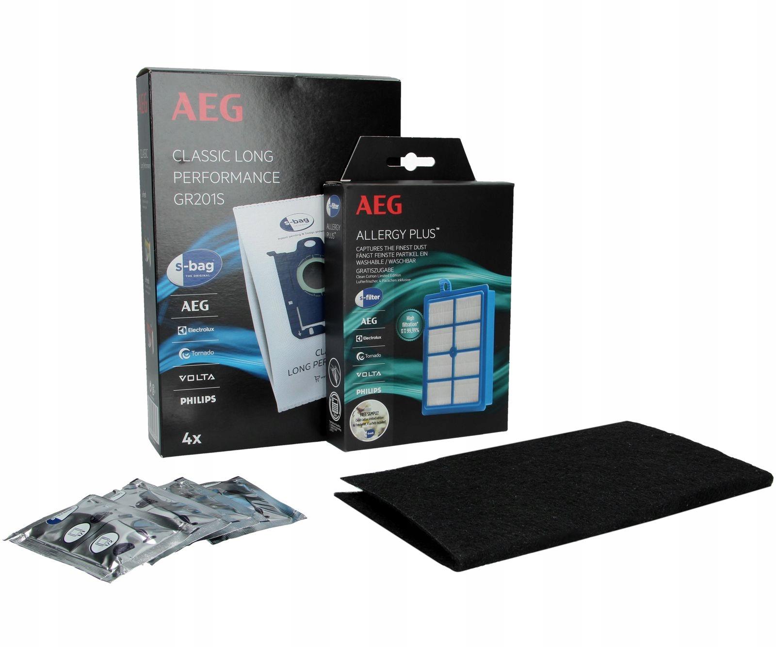 SYNTETICKÁ taška S-BAG 4 ks. + HEPA filter EFS1W
