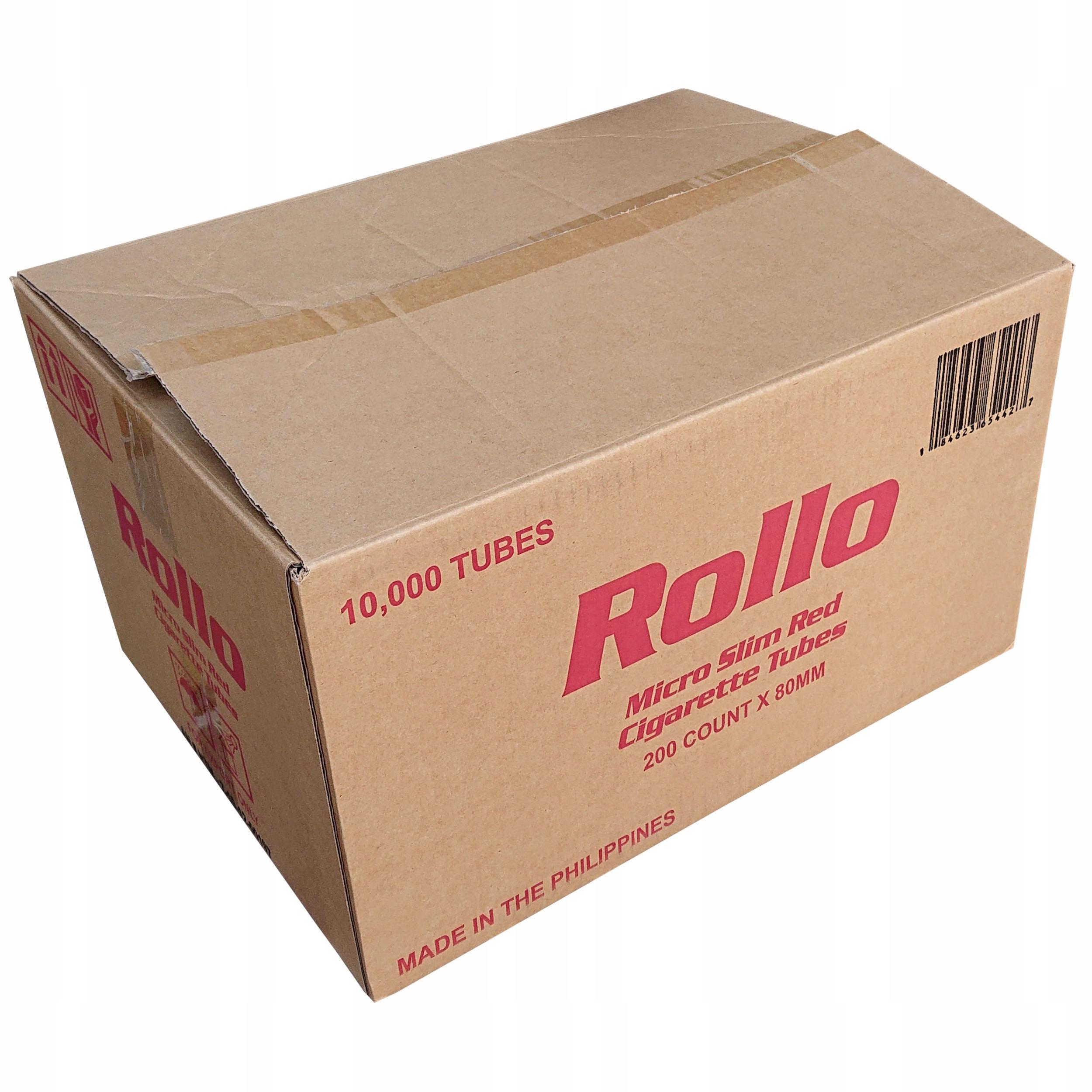 50 наперстков Rollo Micro Slim Red 200 шт. Самые тонкие