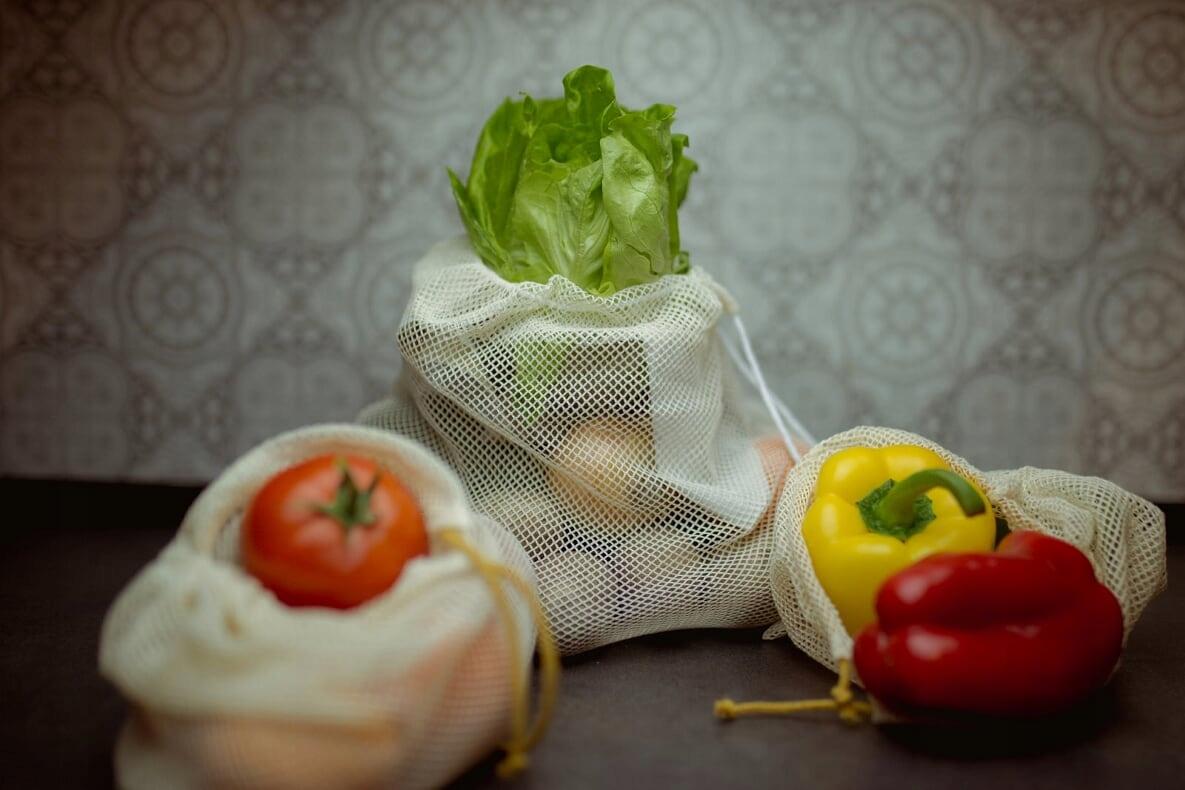 EKO woreczki ZERO WASTE siatki zakupy żywność 6szt Rodzaj worek