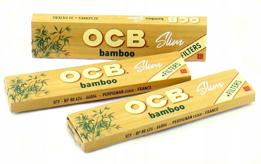 Кляксы OCB Slim Bamboo Filters