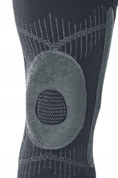 Elastyczna orteza kolana z pierścieniem na rzepkę Waga produktu z opakowaniem jednostkowym 0.15 kg