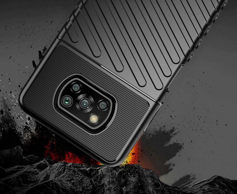 Etui do Xiaomi POCO X3 NFC Pancerne Case + Szkło Kod producenta N40A