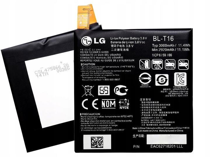 Oryginalna Bateria Lg BL-T16 G Flex 2 H955 H950