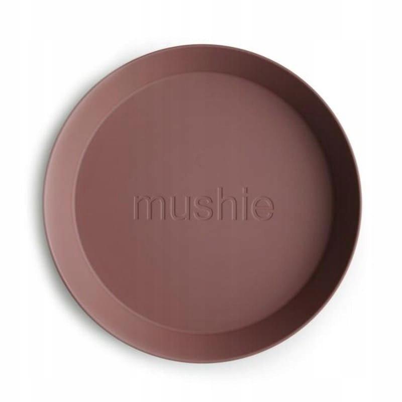 Mushie - 2 talerzyki Round Woodchuck Kod producenta 2305221