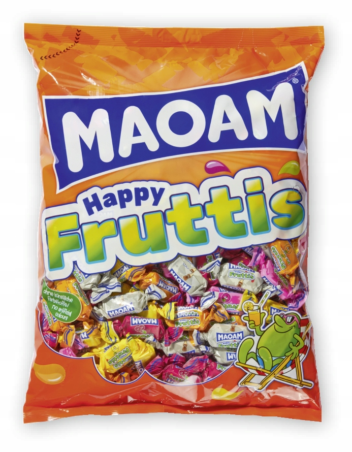 Maoam Happy Fruttis Gumy Rozpuszczalne 1kg