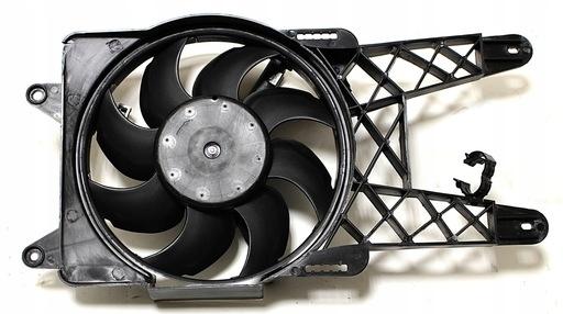 вентилятор радиатора fiat seicento 11 54 км 98-10