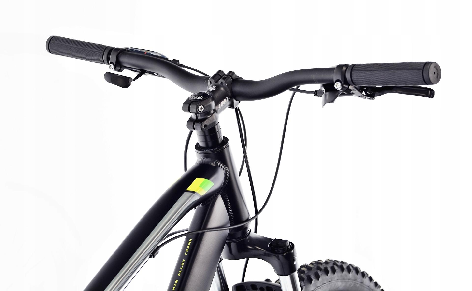Rower MTB Kands 29 COMPER 21 czarno-seled 2021 Pedały platformowe