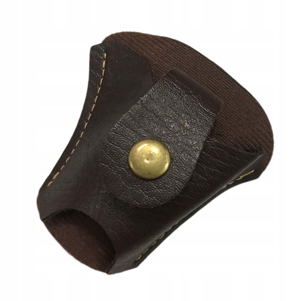 PU LEATHER MAGNET POUCH Steel Ball HOLSTER FO