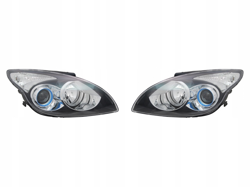 фары лампы hyundai i30 09-12 tyc комплект