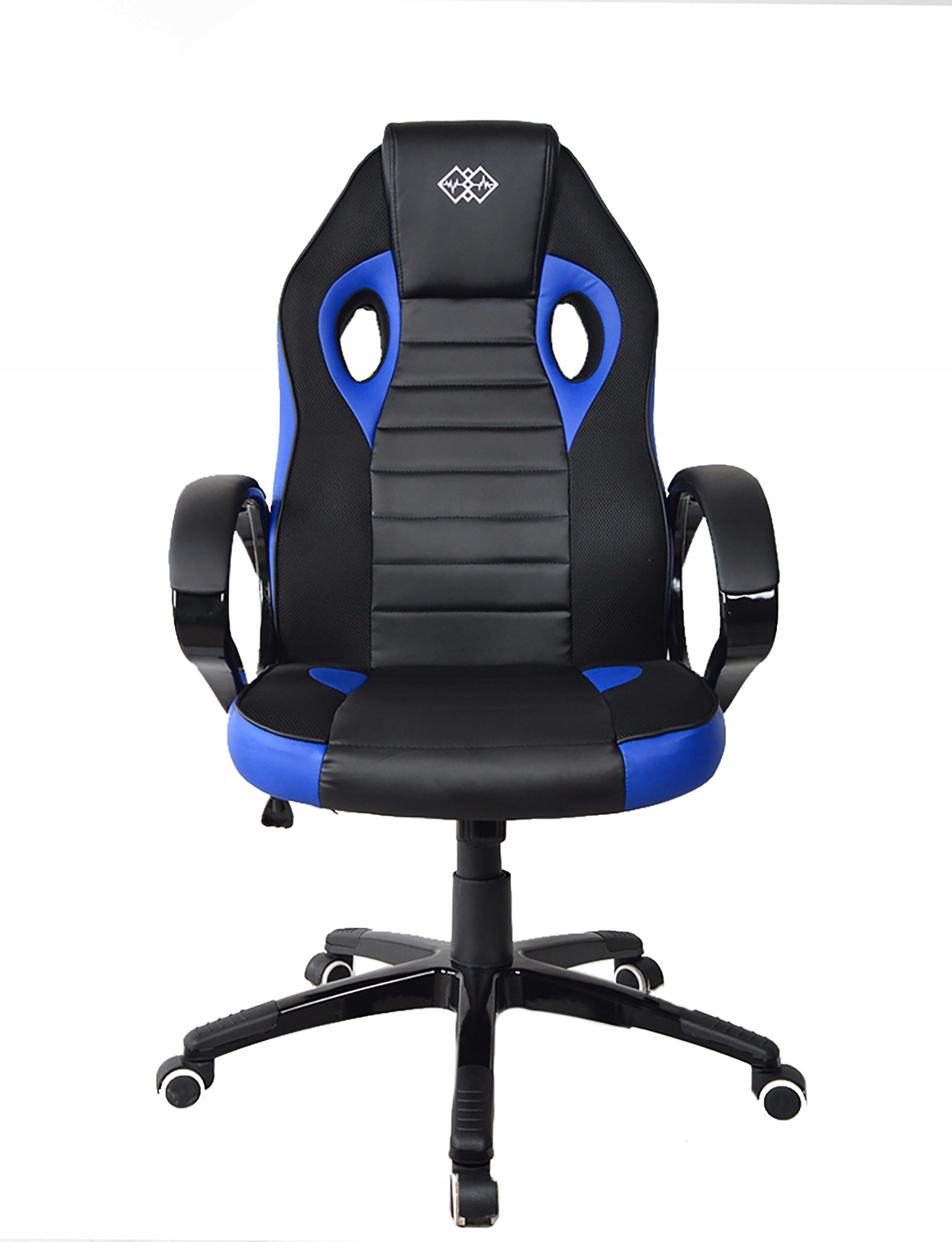 Поворотное игровое кресло премиум-класса для игрока Высота мебели 123 см.