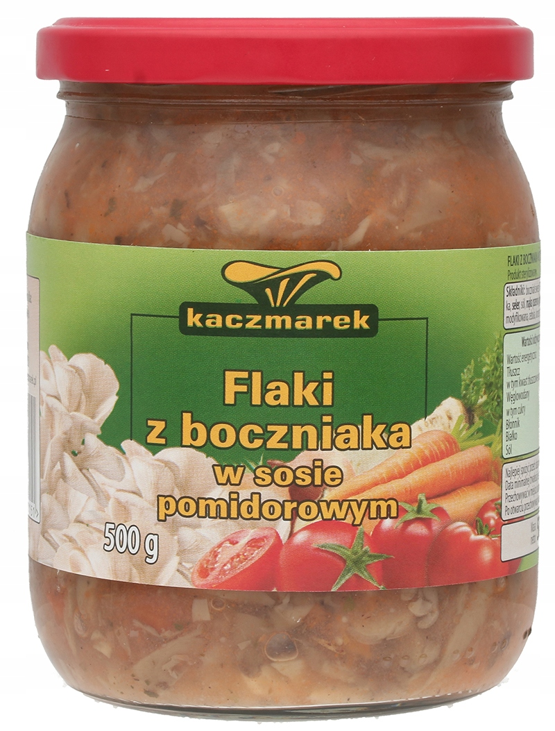 Item THE SCAR OF OYSTER MUSHROOMS IN TOMATO SAUCE 500G