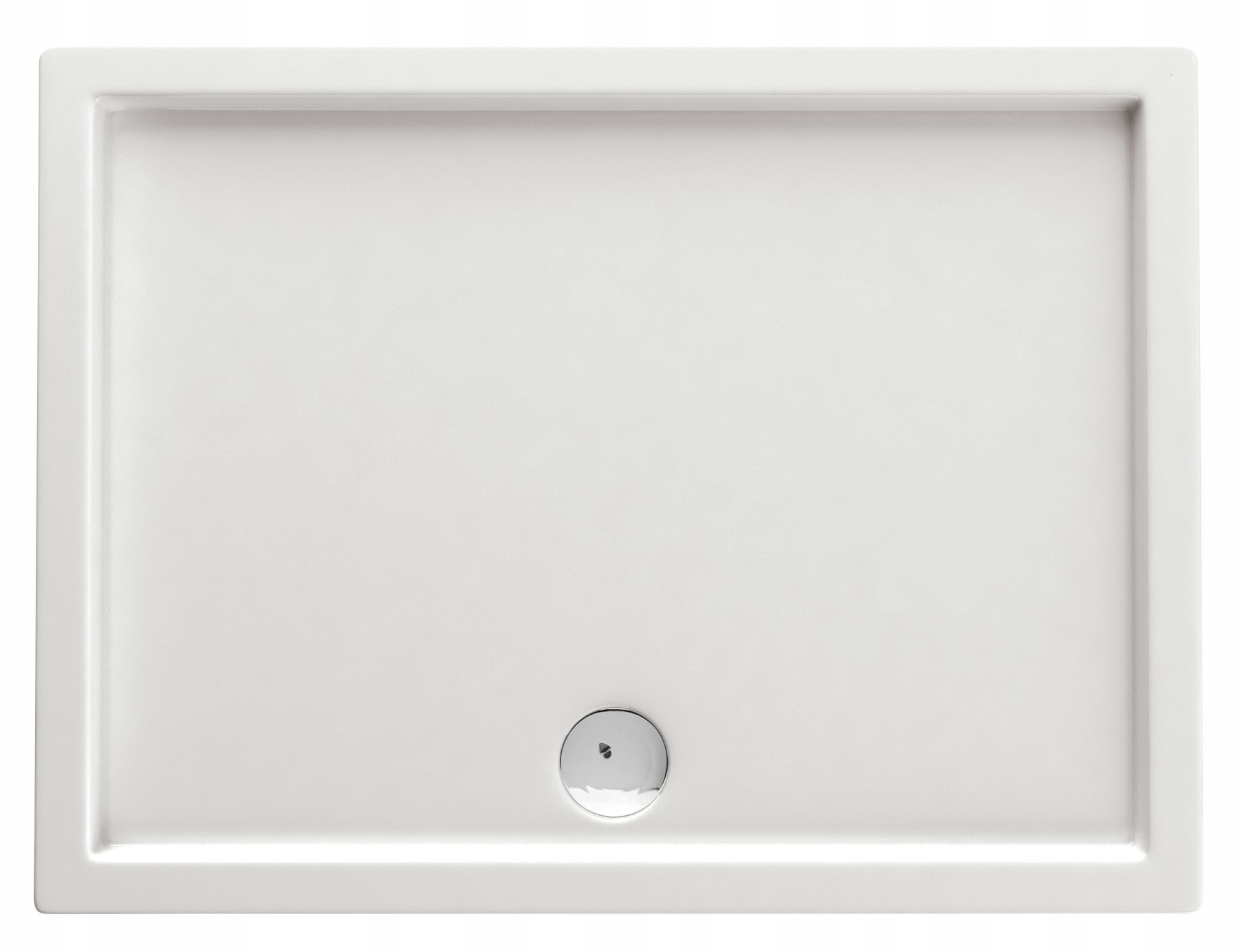 DEANTE MINIMÁLNY obdĺžnikový sprchový žľab 80x100 CM BIELY