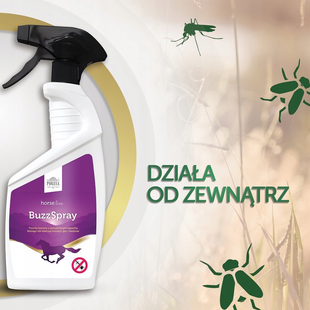 Купить HorseLine BuzzSpray СПРЕЙ ОТ комаров + БЕСПЛАТНО на Otpravka - цены и фото - доставка из Польши и стран Европы в Украину.