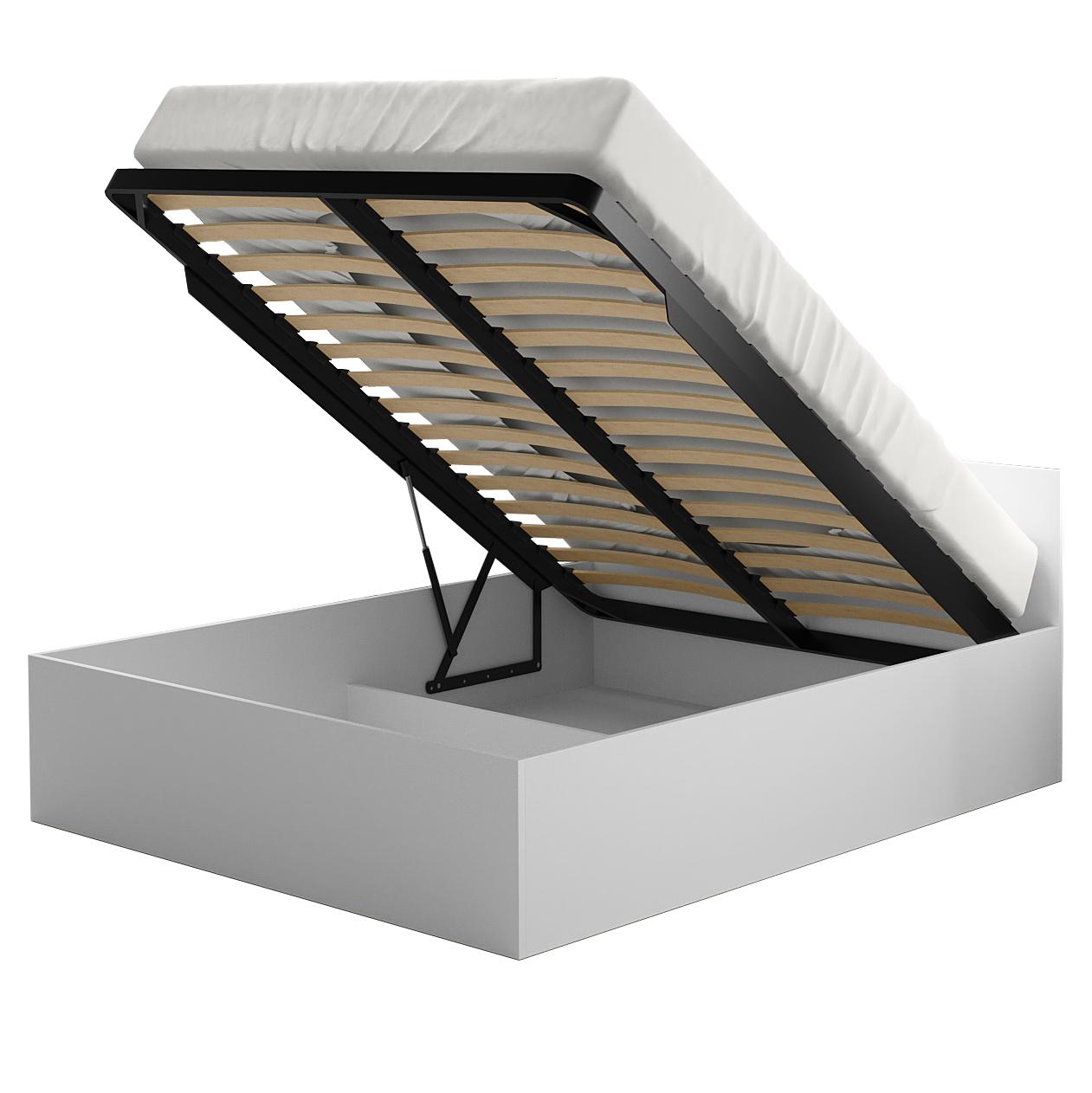 кровать с ортопедическим для спальни 140х200 каркас Трев