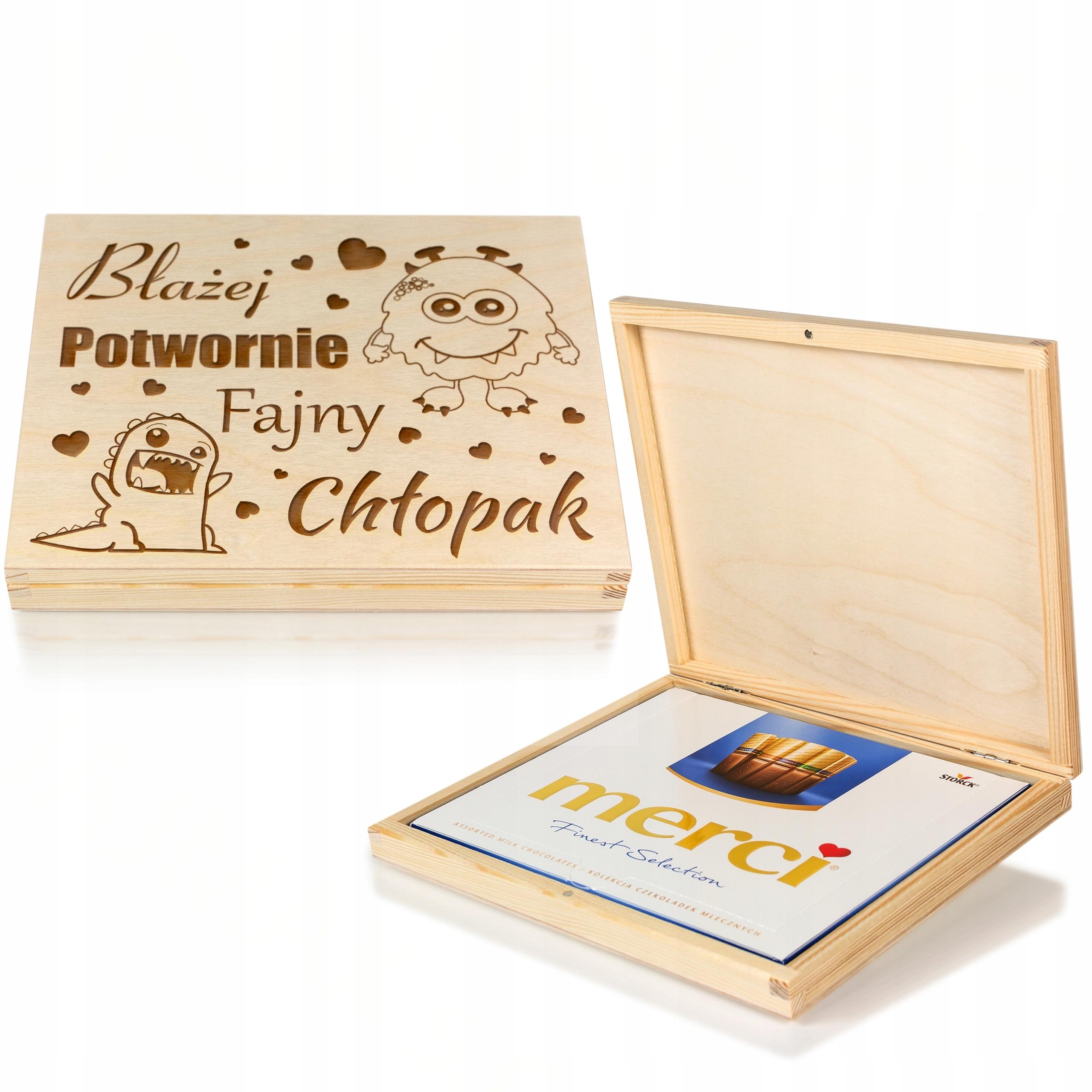 Купить Merci box ПОДАРОК на ДЕНЬ МАЛЬЧИКА подарок на Otpravka - цены и фото - доставка из Польши и стран Европы в Украину.