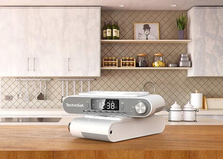 Radio kuchenne FM,bluetooth podszawkowe TechniSat Model Kitchenradio