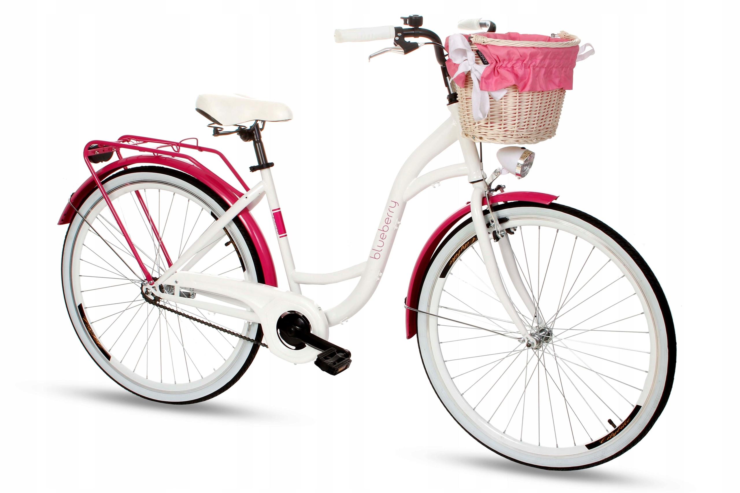 Dámsky mestský bicykel Goetze BLUEBERRY 28 košík!  Počet prevodových stupňov 1