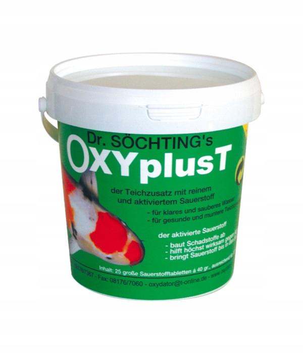 OXYplus T - Oxydator do oczka wodnego tabletki 1kg