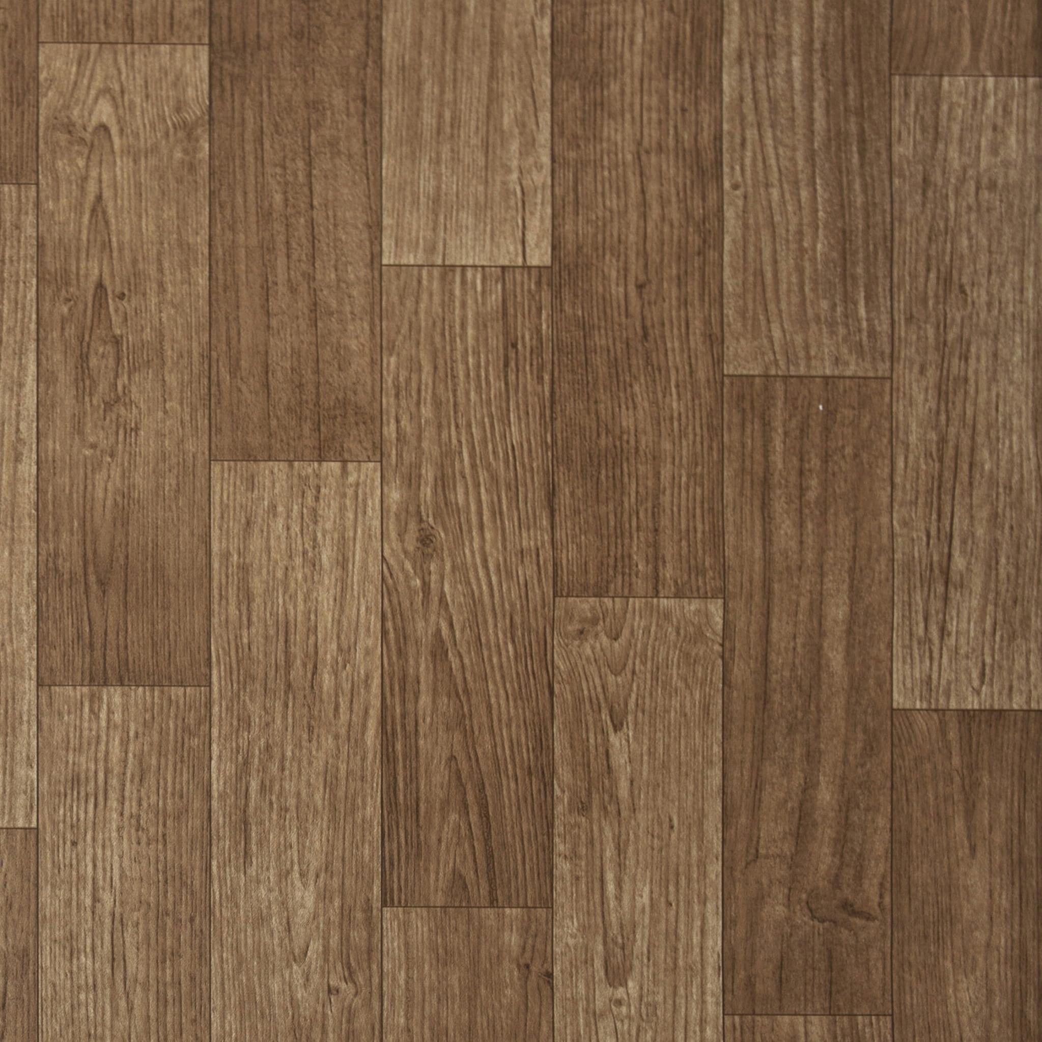 Wykładzina PCV linoleum gumolit brąz drewno 2m