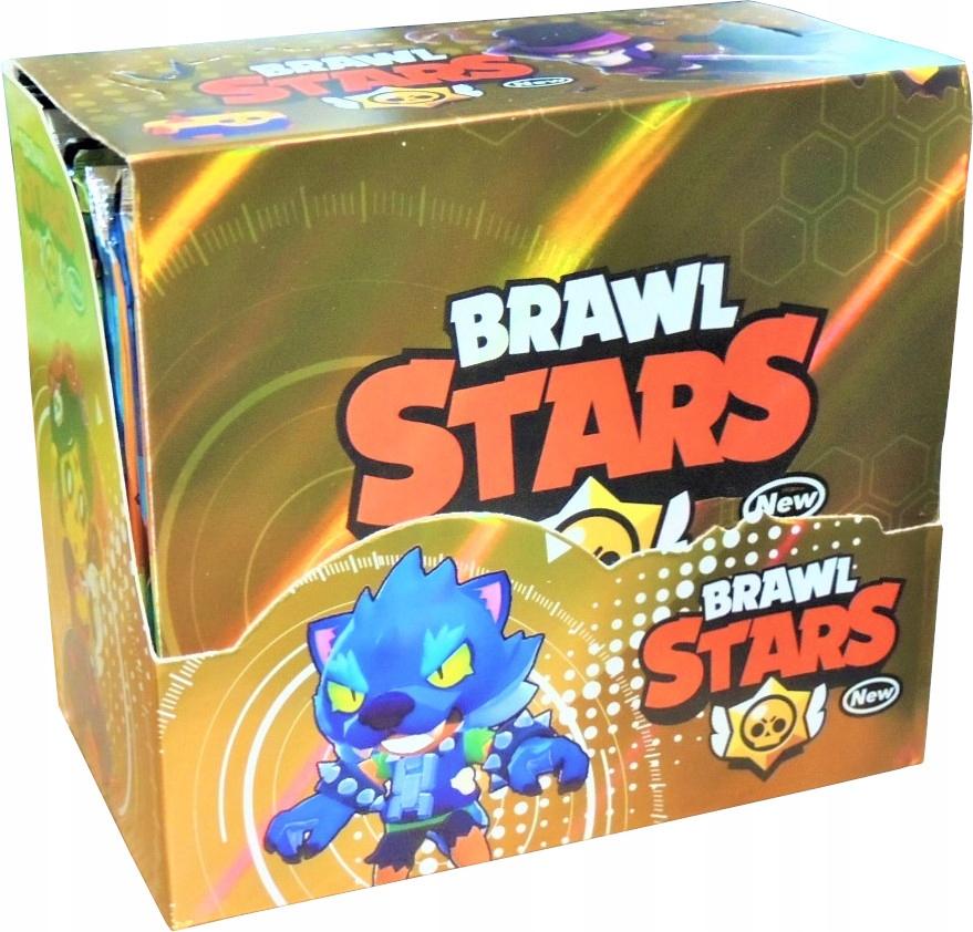 BRAWL STARS BOX KARTY 36 Bosterów 288 kariet SÉRIA 3